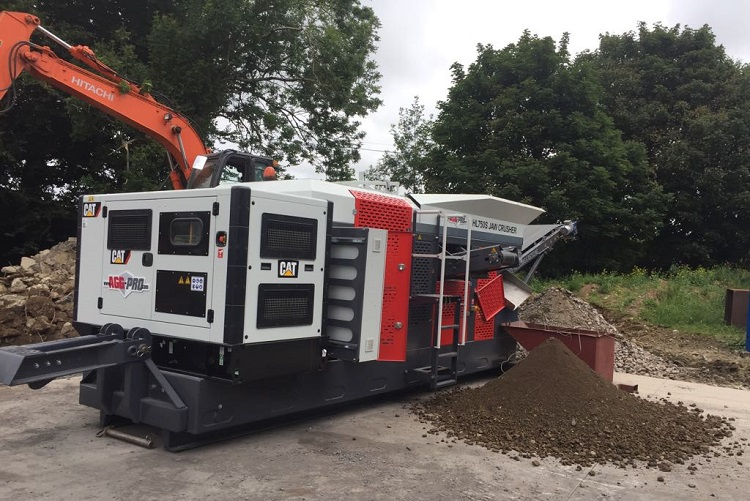 Introducing the new HL750S Jaw Crusher from AGG PRO