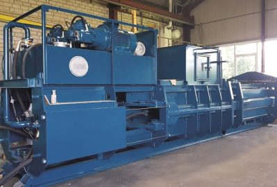 Mardon Recycling releases new range of fully automated balers for waste industry