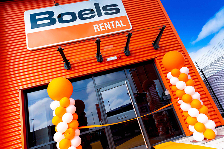 Boels Rental opens a new depot in Stoke
