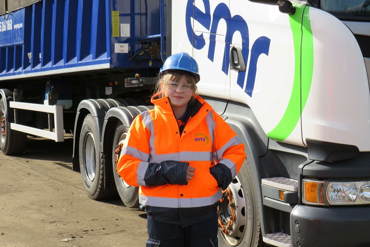 Here come the girls: metal recycler tackles the shortfall in LGV drivers