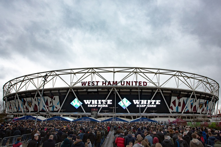 Waste recycling firm White Skip Hire enjoying Premier League profile at London Stadium