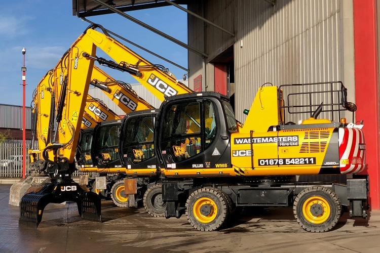 Wastemasters Hire add more JCBs to short term hire fleet