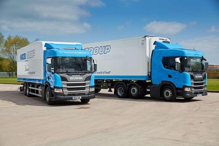 200+ new generation Scania trucks for Nagel Langdons