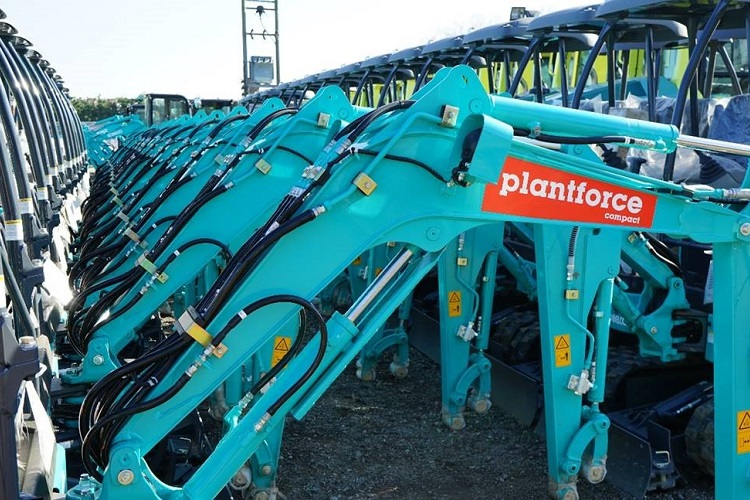 Plantforce Rentals Ltd invests £2.8m in new Compact hire division