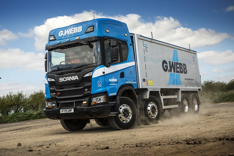 G. Webb Haulage Limited selects Scania again