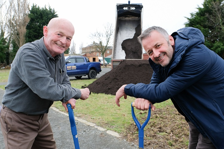 Scott Bros. makes soil donation to kick-start community horticulture project