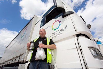 Cromwell Polythene clean-up indicates a reduction in littering