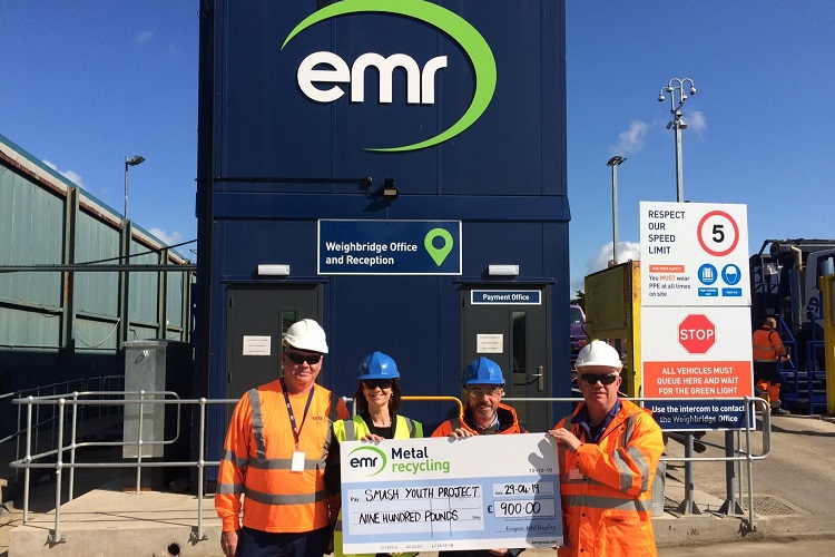 EMR helps Swindon youth smash their goals