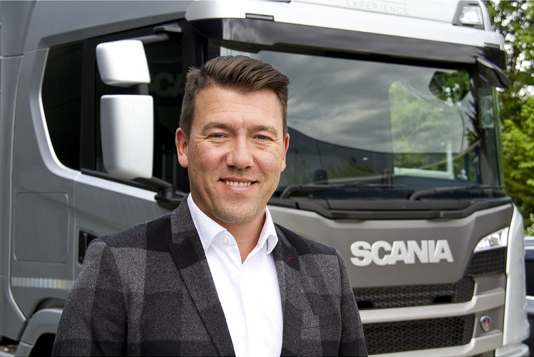 Paul Smith appointed Marketing Director for Scania