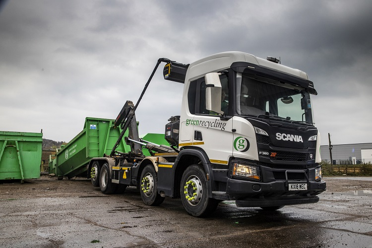 Green Recycling makes substantial savings with tailor-made Scania XTs