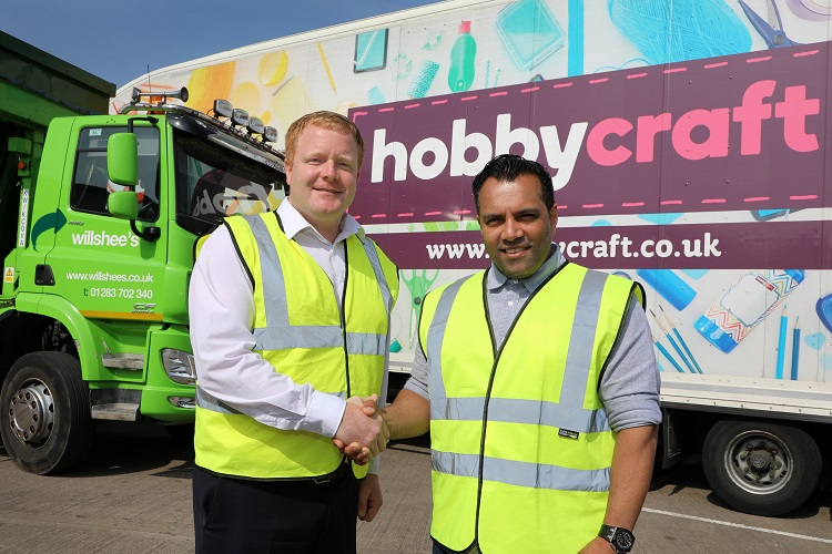 Willshee's to help Hobbycraft get greener