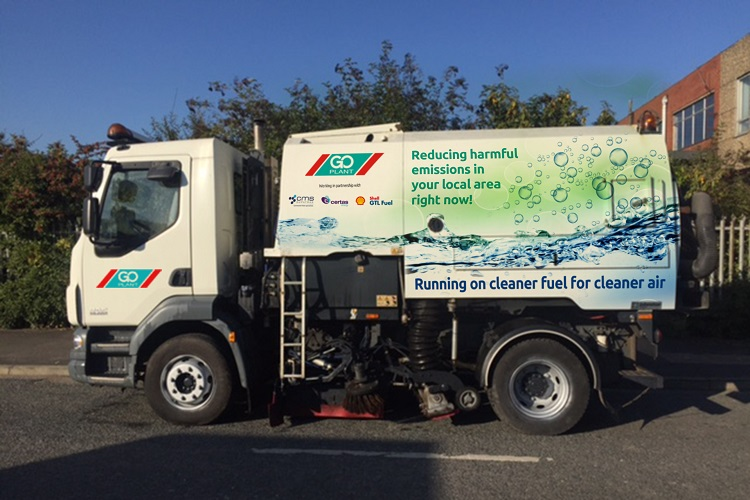 Go Plant Fleet Services partners with Certas Energy to fuel cleaner air for road sweepers fleet