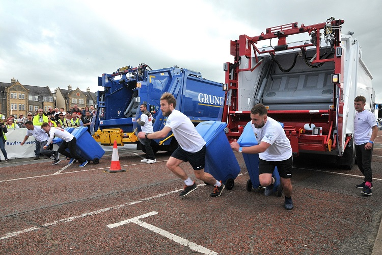 Announcing the fastest bin collection team in the UK!