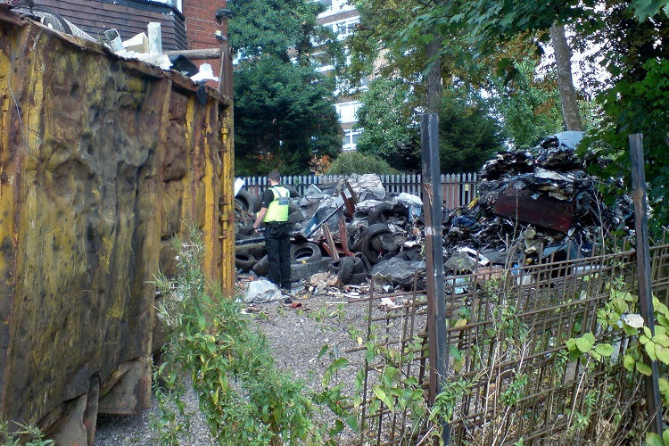 Fly-tipper jailed for five months