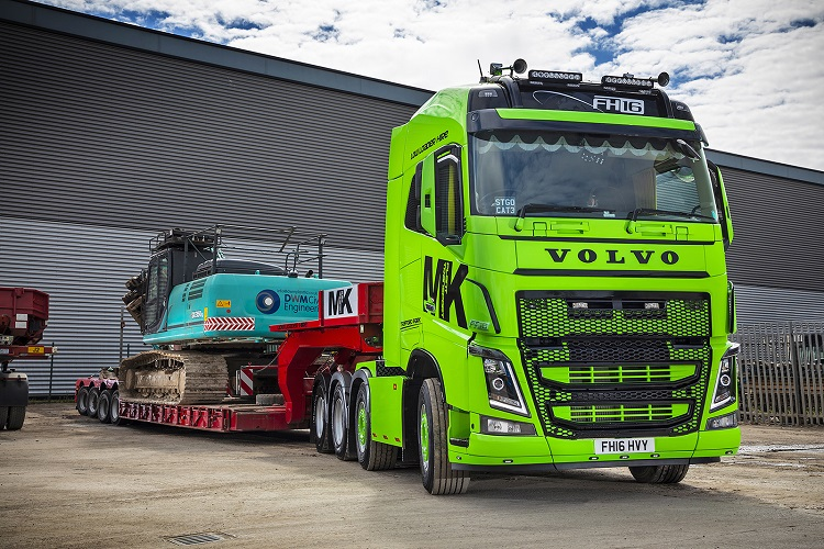 Volvo helps MK Plant go green with new flagship vehicle