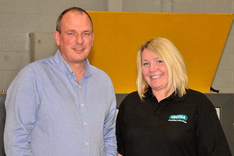 Two industry recruits for UNTHA UK