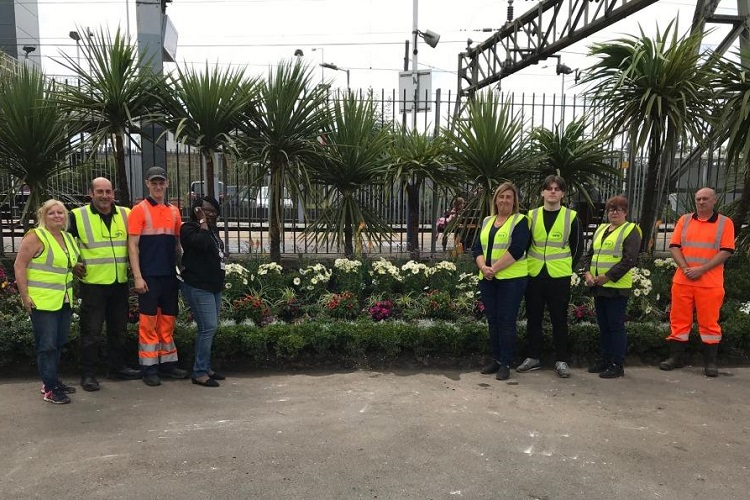 Tilbury Town Station flourishes with local community support