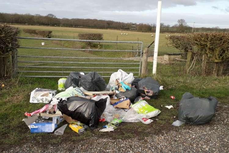 Ashford Borough Council win in fly tipping case on local farmland