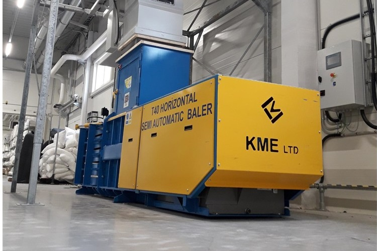 KME's balers are a wonder worldwide
