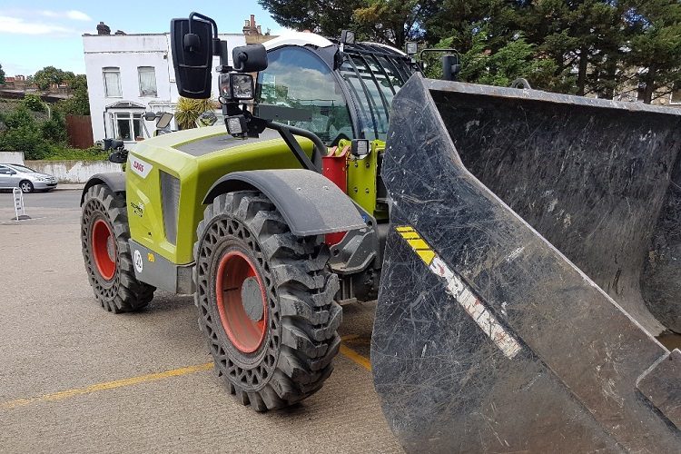 Class Tyres for a Claas Telehandler