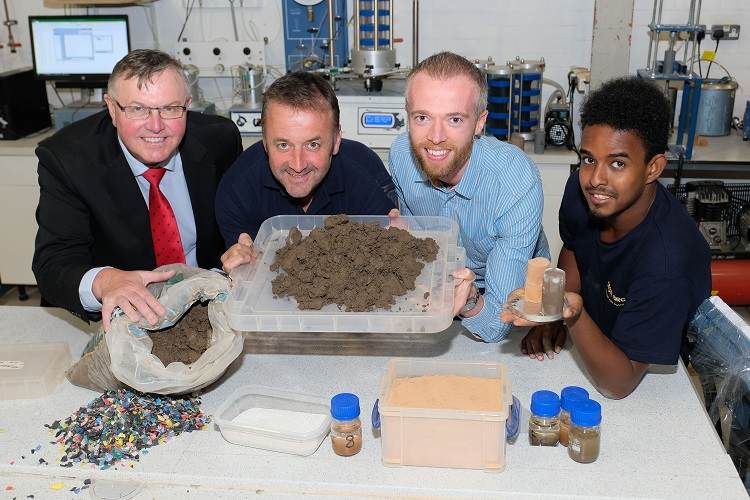 Scott Bros enlists Teesside University's help to recycle unwanted 'filter cake'