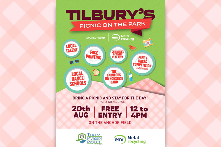 EMR announced as a sponsor of Tilbury's Picnic On The Park
