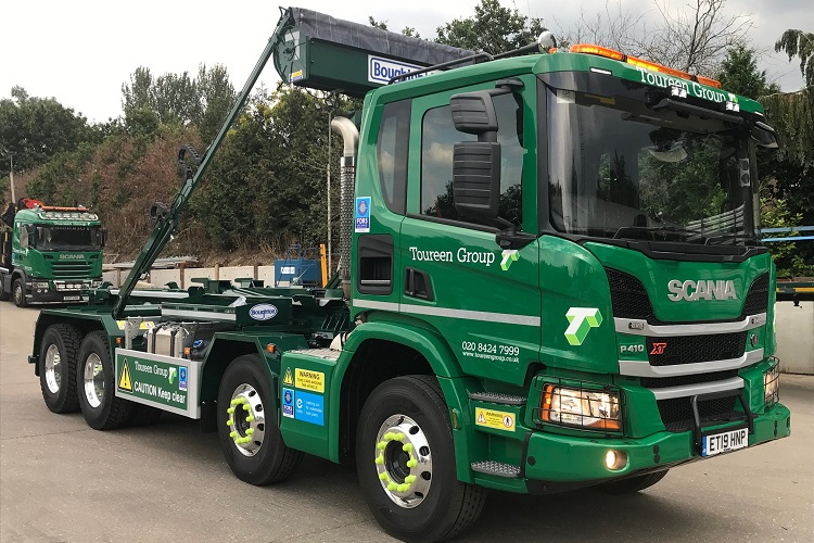 Toureen goes 'top spec' with new Boughton-equipped Scania