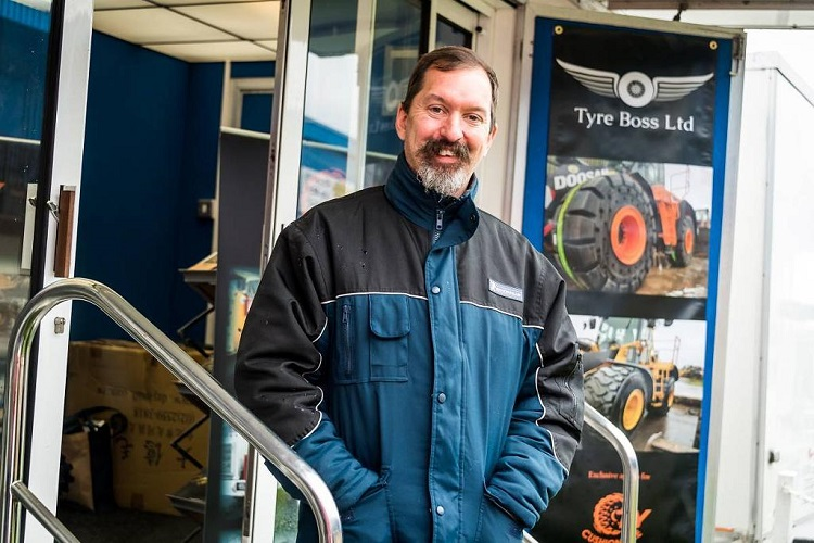 Tyre Boss makes first appearance at RWM