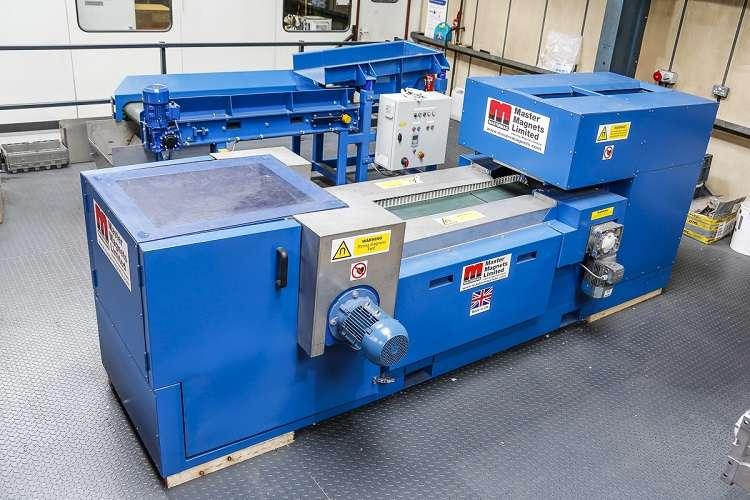 University of Birmingham acquires laboratory eddy current separator