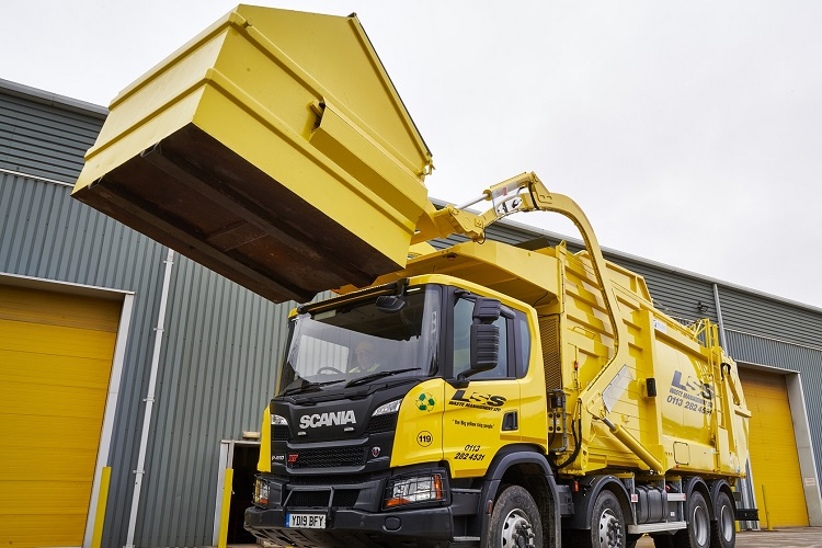LSS Waste's front end loaded investment