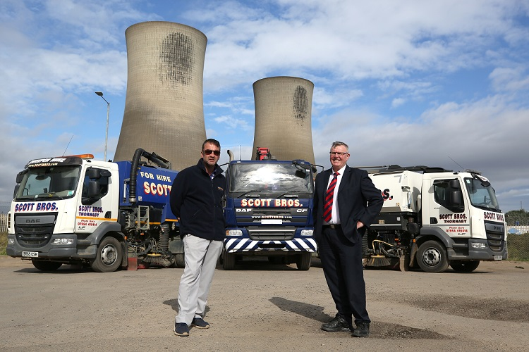 Scott Bros makes significant investment in vehicle fleet