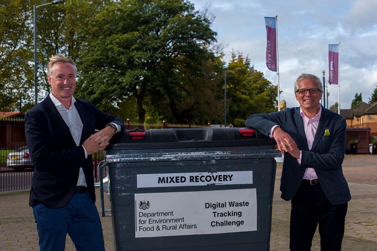 Topolytics wins funding to build the UK's first digital waste tracking system