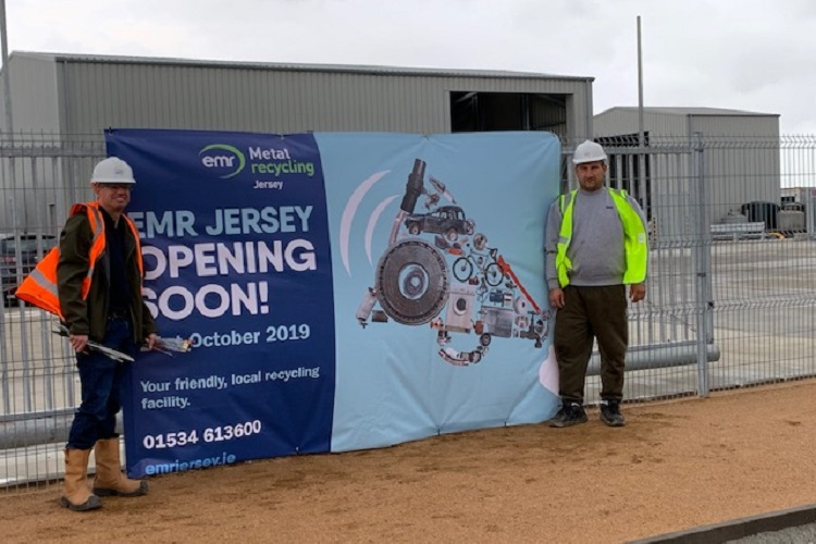 Jersey metal recycling relocates to new site