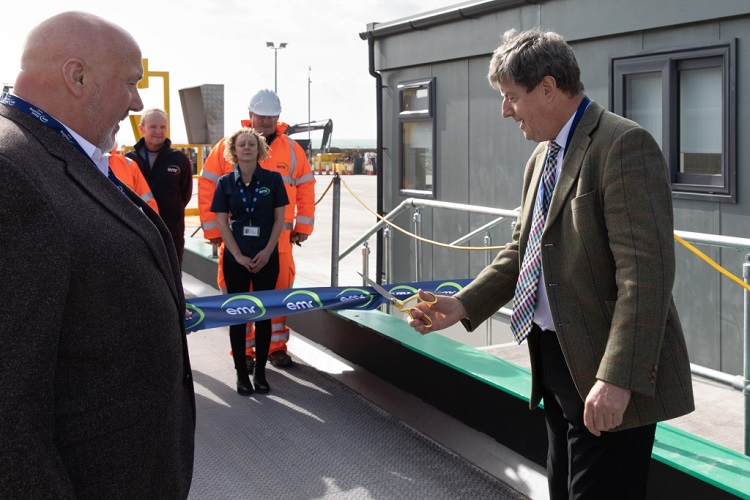 New metal recycling facility opens in Jersey