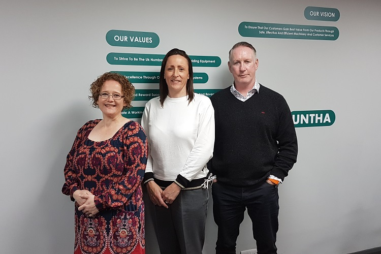 A hat-trick of appointments and a familiar face at UNTHA UK