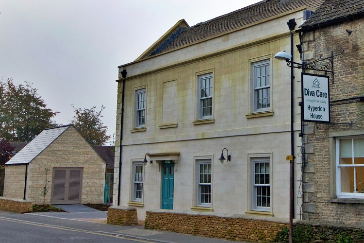 Aggregate Industries brings the natural touch to Cotswold care home