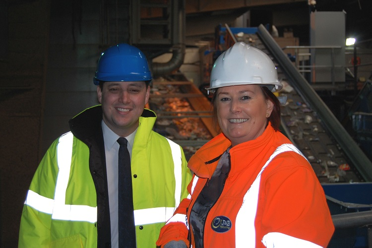 Tees Valley Mayor praises J&B Recycling for employment milestone
