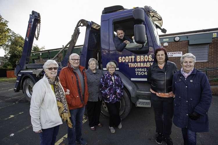 Scott Bros. helps tackle community centre 'jungle'