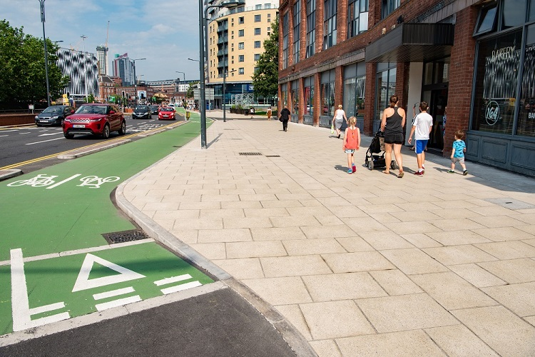 Aggregate Industries backs Manchester cycle network while stating improving road safety 'critical'