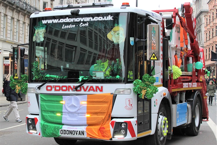 O'Donovan Waste announces partnership with London Irish Centre