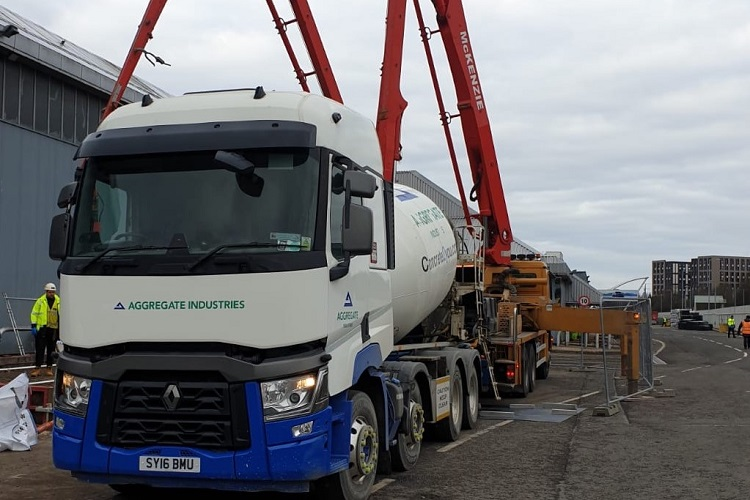 Aggregate Industries supports multiple major NHS projects
