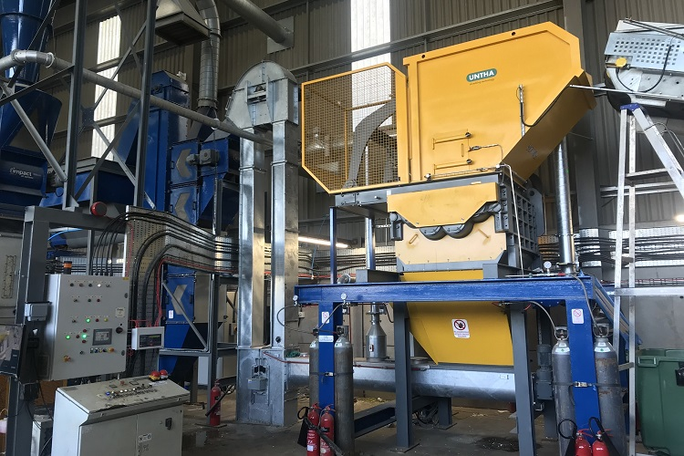 Metal specialist boosts recycling capabilities with UNTHA shredder