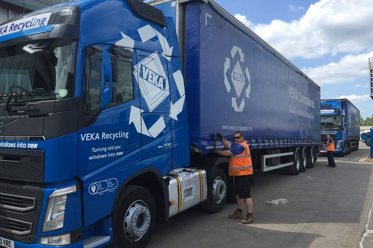 Veka Recycling fleet in full flow once more