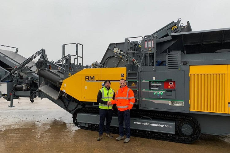KKB Group adds another Rubble Master RM 120GO! to their fleet
