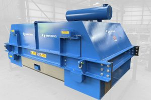 Bunting electro overband magnet protects gold mine