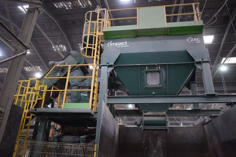 Multiple impact glass cleaning purchase for glass recycler Recresco