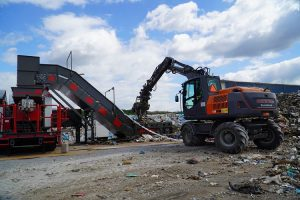 New mobile baling solution reduces risk of fires at waste sites