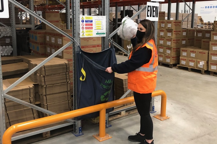 New warehouse racksack and visual aids delivers for leading UK packaging distributor