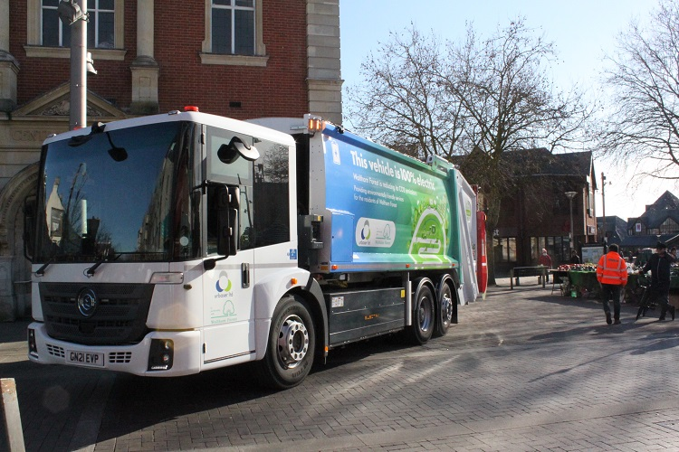Waltham Forest unveils new electric waste and cleansing fleet