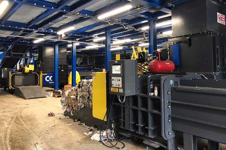 CK International delivers a high-density baling solution for DMR